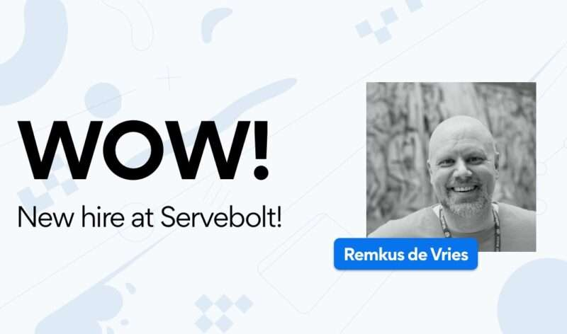Servebolt welcomes Remkus de Vries to the team