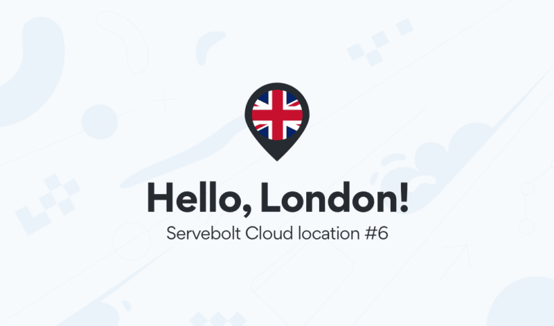 Our Servebolt Cloud expands to the UK