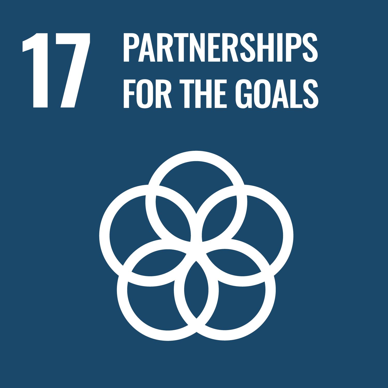 SDG icon for goal 17 Partnerships for the Goals